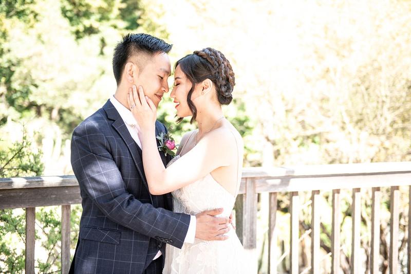 Wedding at Berkeley Botanical Gardens in Santa Clara