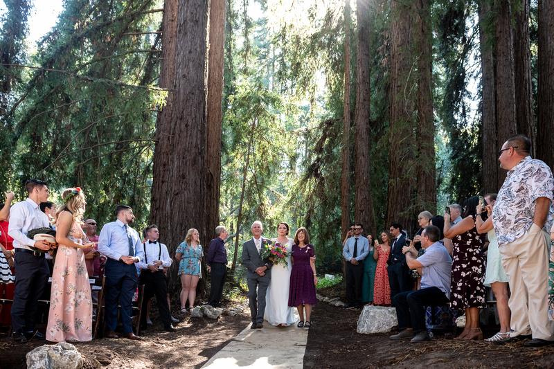 Corralitos Wedding at Redwood Hideaway22